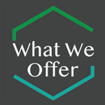 What we offer button